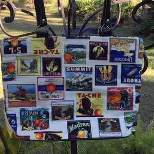 😎So Cool Zipper Tote Bag Great Everyday Use 😎